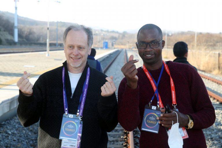 Oumar at DMZ tour